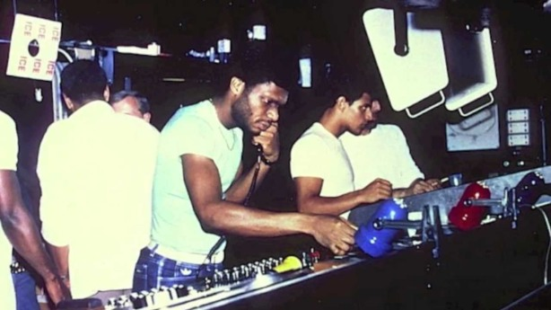 Larry Levan at Paradise Garage